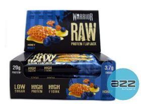 warrior_supplements_raw_protein_flapjack_display_12x75g_honey_berry