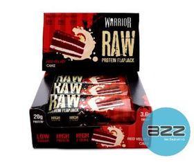 warrior_supplements_raw_protein_flapjack_display_12x75_red_velvet_cake